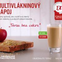 Herbalife Multivlakninový nápoj promo leták
