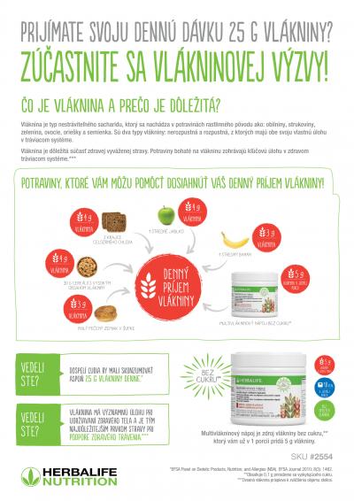 Herbalife multvlaknina - letak 2