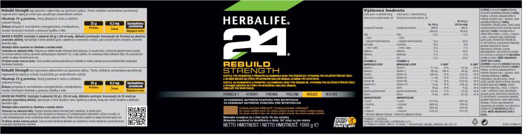 SKU 1437 H24 Rebuild Strength