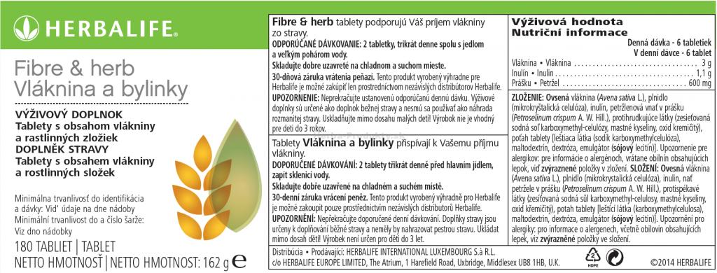 SKU 3114 Vlaknina a bylinky