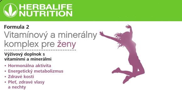 Formula 2 Vitamínový a minerálny komplex pre ženy