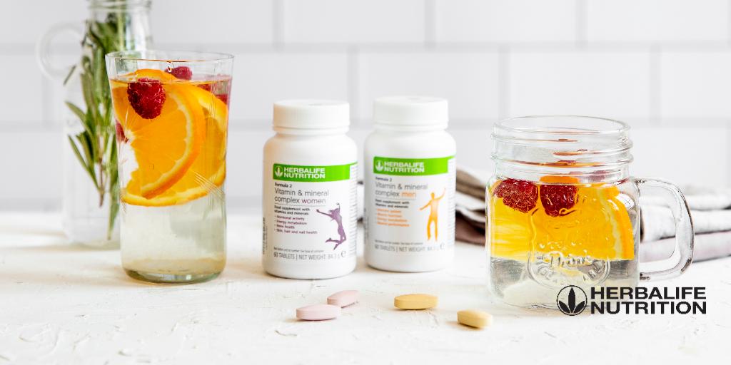 Herbalife Formula 2 Vitamínový a minerálny komplex pre mužov a zeny