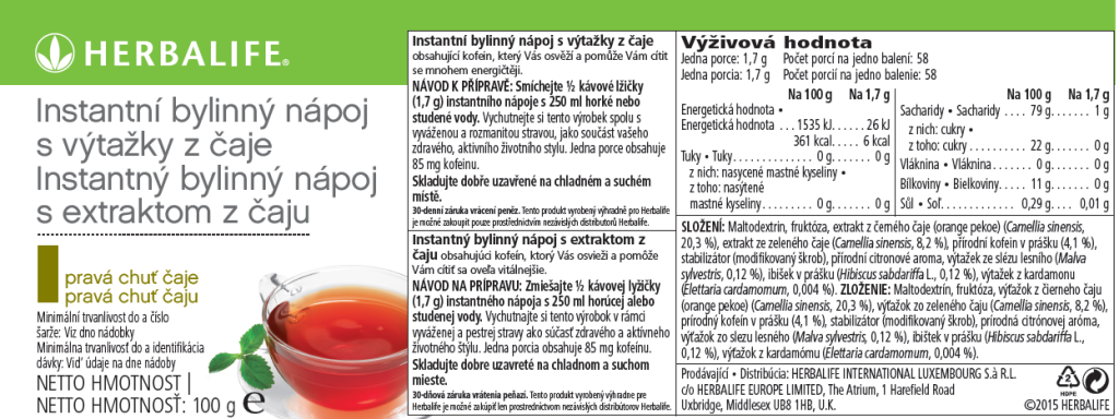 SKU 0106 Instatný bylinny napoj