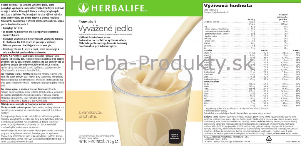 Herbalife-Formula-1-Vanilka-780g-stitok