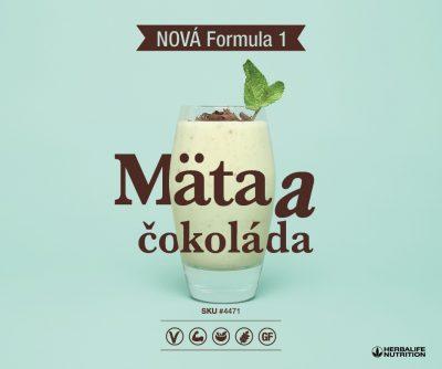 Herbalife Formula 1 - Mäta a čokoláda s chrumkami