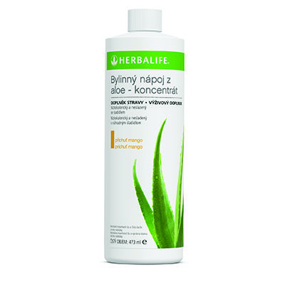 Herbal Aloe koncentrát - Mango