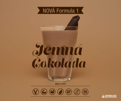 4468 Herbalife Formula 1 - Jemná čokoláda