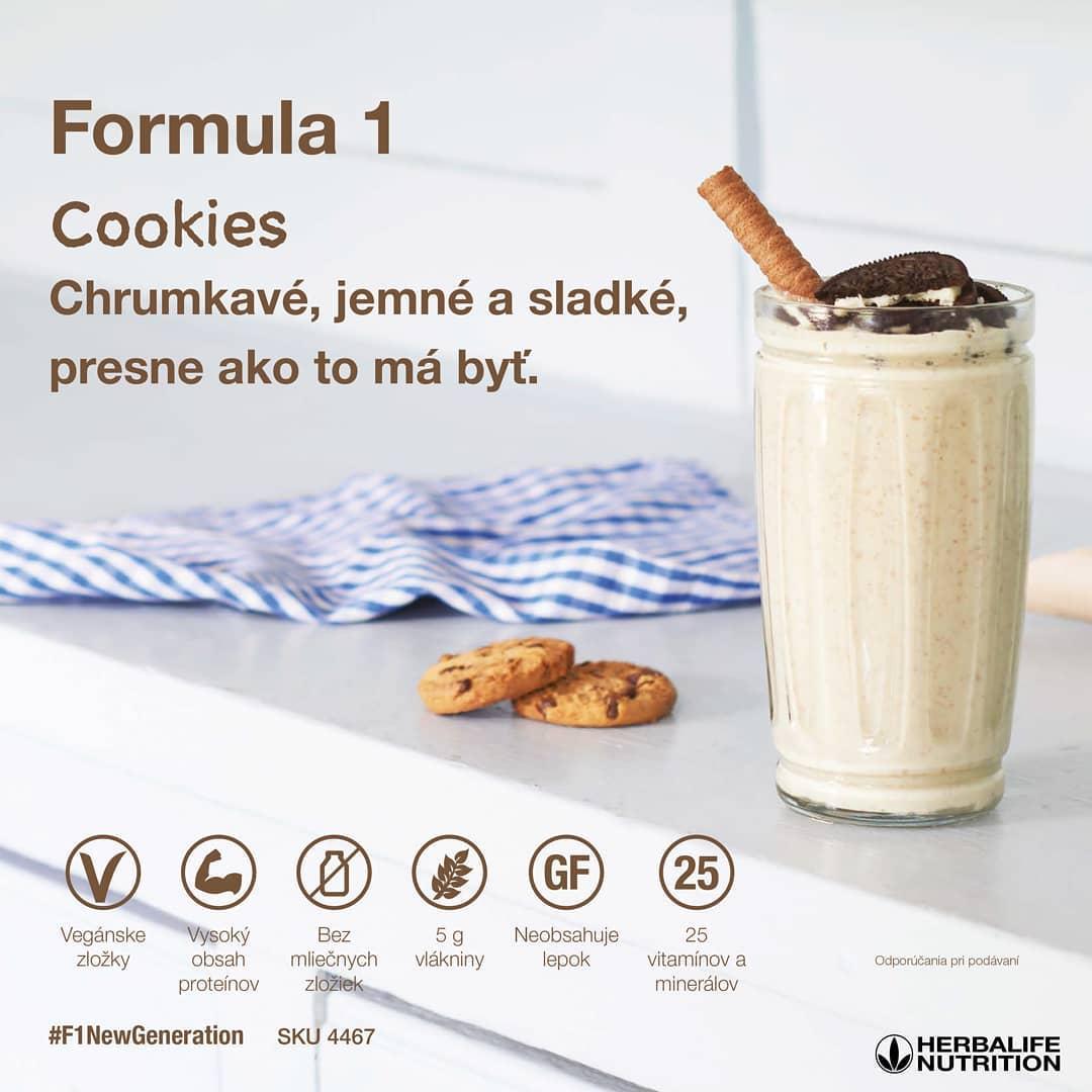 Herbalife Formula 1 - Cookies (popis)