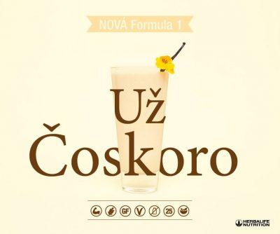 Herbalife Formula 1 Smotanova vanilka