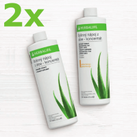 2x Herbalife Aloe koncentrát