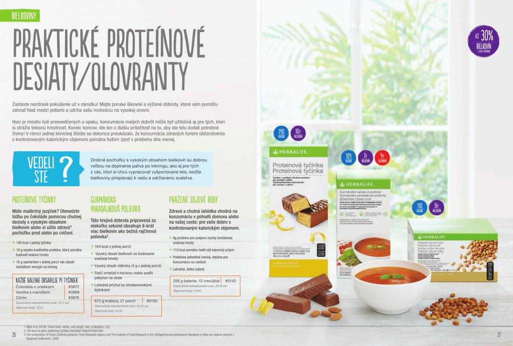 Herbalife praktické proteínové desiaty