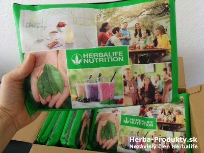 Skúšobný balíček Herbalife - Obal