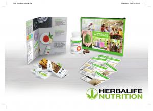 Herbalife skúšobný testovací balíček - Obsah balenia