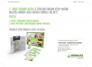 Herbalife skúšobný testovací balíček - Pozvánka