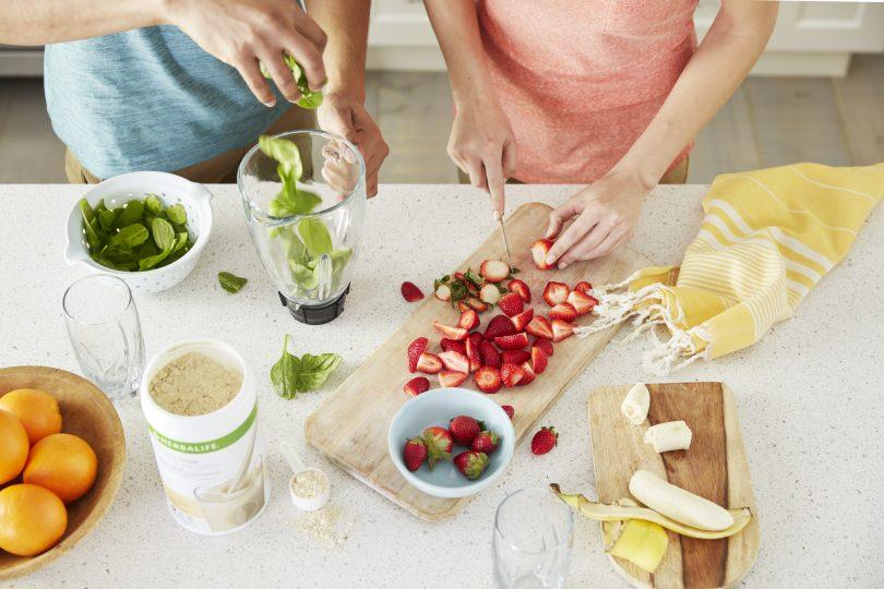 Herbalife zdravé raňajky Formula 1