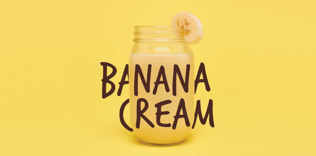 Herbalife Formula - Bananova prichut (Banana Cream #4462)