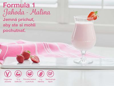 Formula 1 Jahoda Malina (s jahodovo malinovou príchuťou)