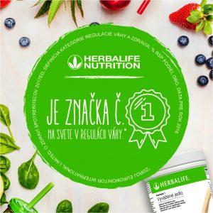 Herbalife je číslo 1 v regulácií váhy na svete