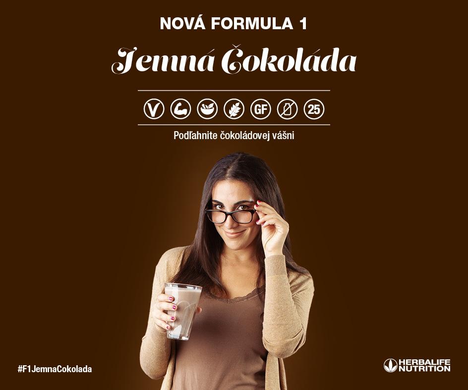Herbalife Formula 1 - jemna cokolada promo
