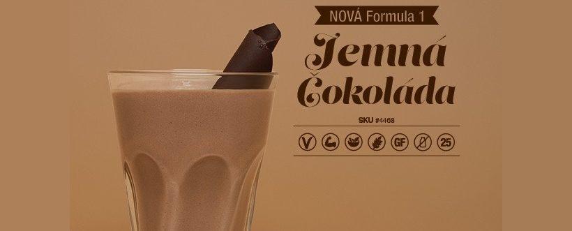 Slider - Formula 1 - Jemna cokolada