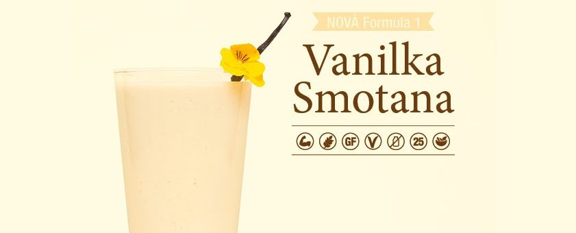 Herbalife Formula 1 - Vanilka smotana