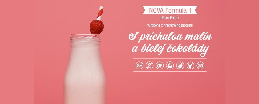 Herbalife Formula 1 Free malina a biela cokolada