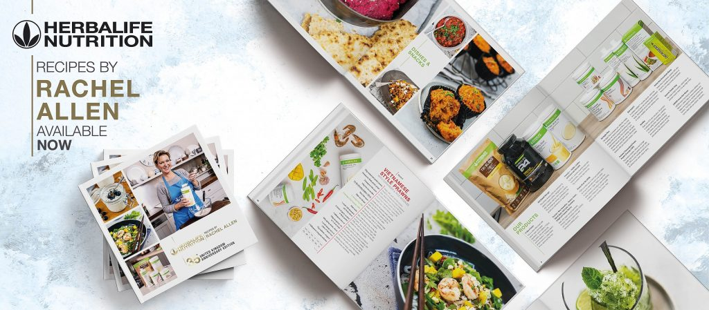 Kniha receptov Herbalife Nutrition