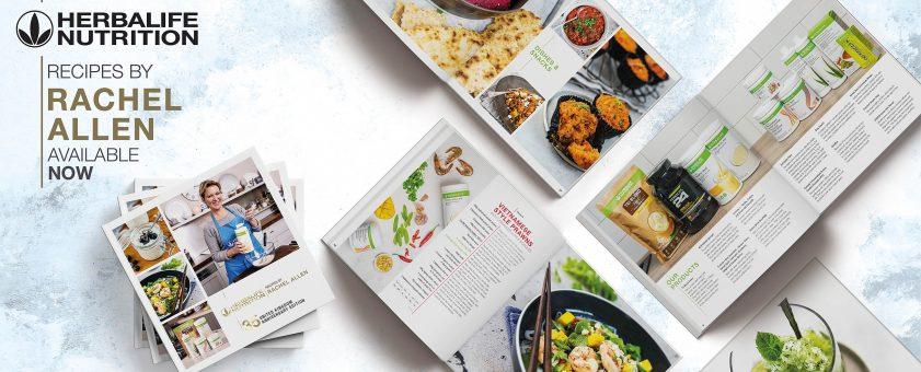 Kuchárka-Kuchárska kniha-receptov Herbalife Nutrition