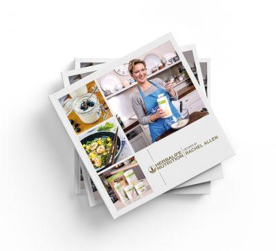 Kuchárka Herbalife - Kuchárska kniha receptov Herbalife Nutrition (Zadná strana)