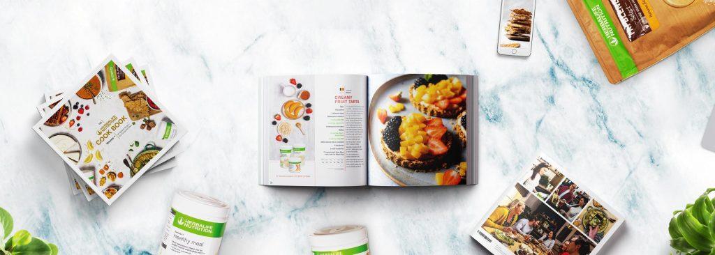Kuchárka Herbalife - Kuchárska kniha receptov Herbalife Nutrition - Promo