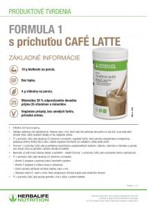 Herbalife Formula 1 - Cafe latte vplyv na zdravie