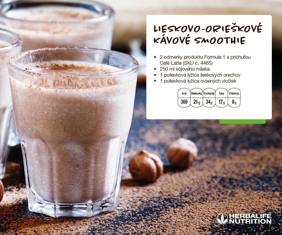 Recept Herbalife Formula 1 - Cafe Latte